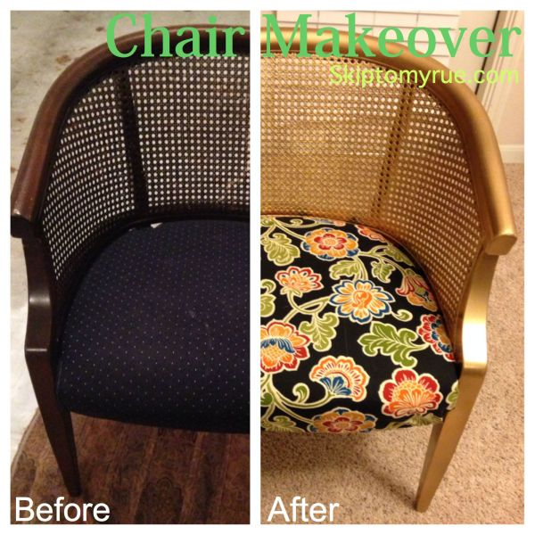 chair makeover title